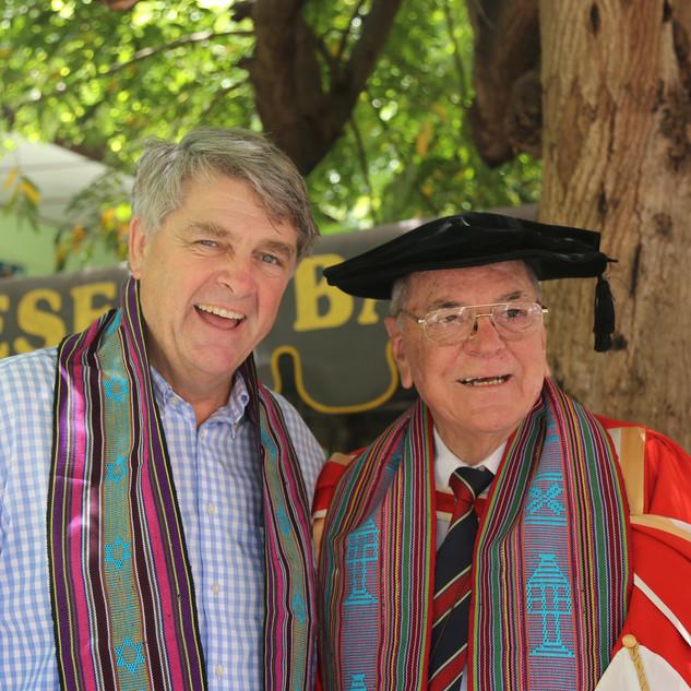 Steve Newnham and Prof Tony D'Arbon.jpg