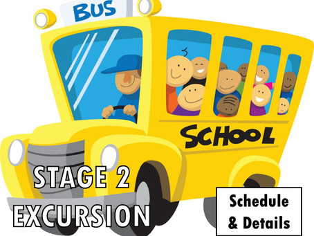 STAGE 2 EXCURSION INFO