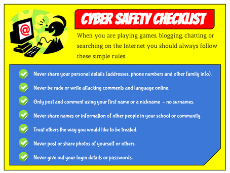 CYBER SAFETY CHECKLIST