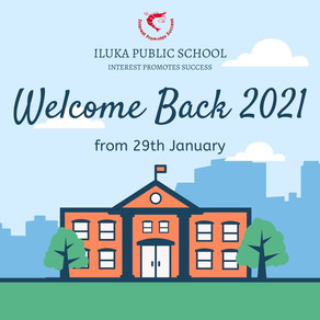 WELCOME BACK 2021