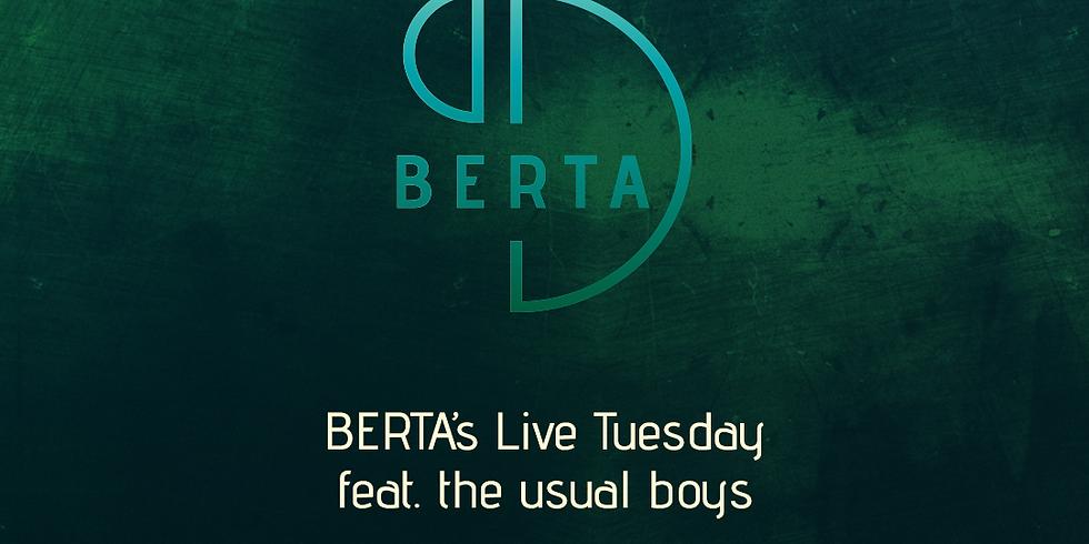 BERTAs Live Tuesday