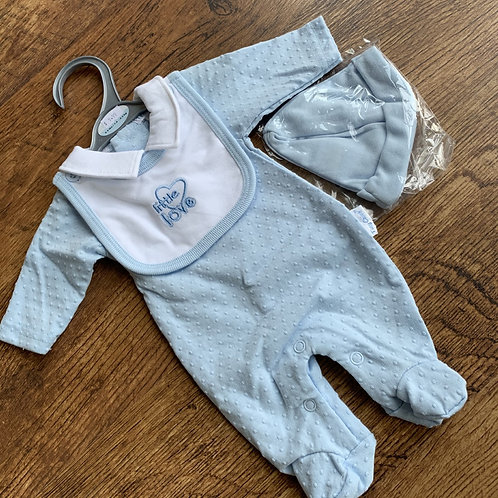 Boys 3piece Set  Blue (little love) Prem