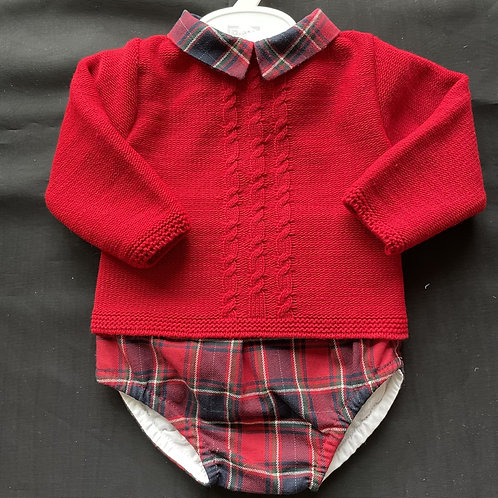 Pex 2 piece Boys Spanish Fine Knitted Suit