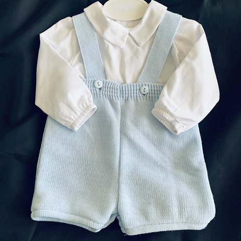 Baby Boy Knitted Pants and Shirt Set