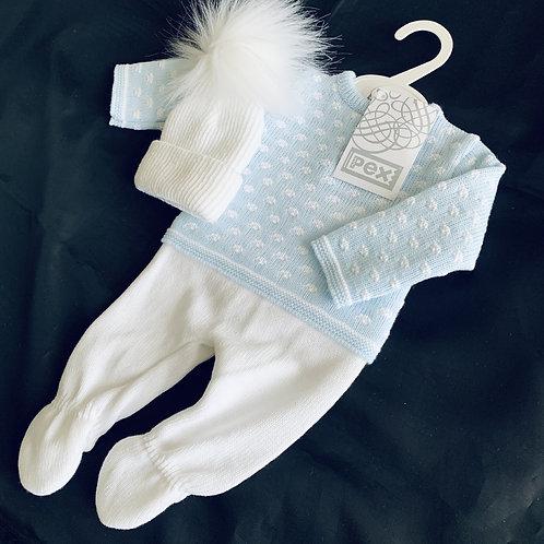 New Baby  Suit + Hat