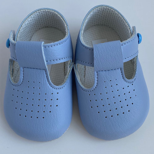 Baby's First Shoes-Boys Blue Shoes
