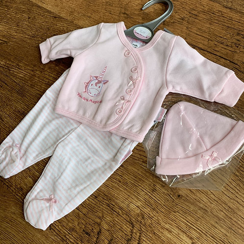 3 PieceSet Pink (you are magical) Prem