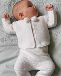Knitted  Two- piece suit