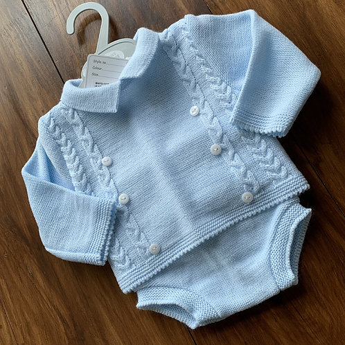 Boys Knitted Two Piece Set