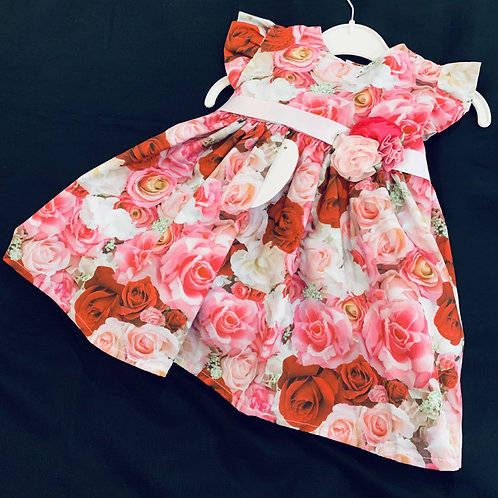 Rosey Posey Cotton Dress