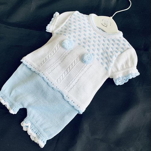 Summer-Fine knit Suit