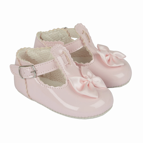 Girls Bow Shoes  Red, White, Pink,