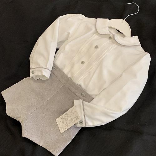 Boys Soft Cord  Pants and Blouse Set