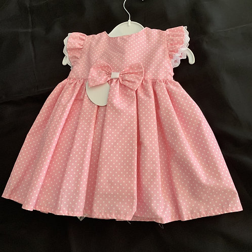Cool Cotton pink Spotty Dress