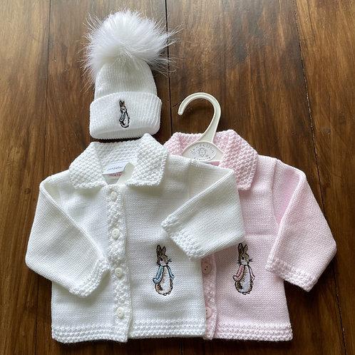 Rabbit Jacket + Hat Set