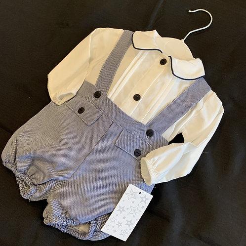 Boys Grey  Pants and Shirt Set