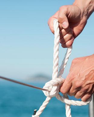 cuerda de la navegación