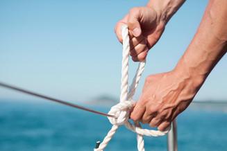 Vela corda
