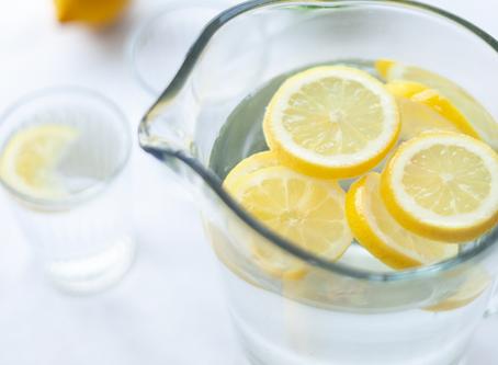 H2O + Limón = Salud Alcalina