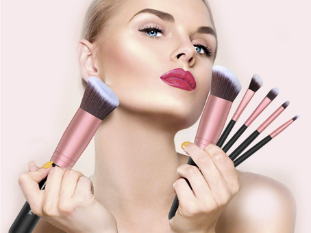 Kits de brochas para maquillarte como una experta