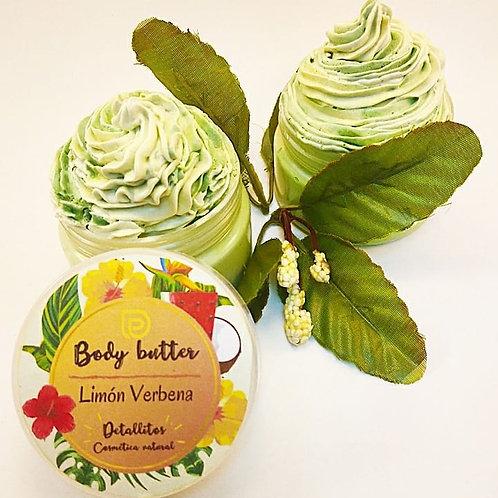 Body butter cream Limón y verbena