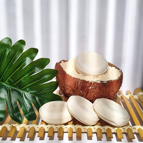 Shampoo solido de coco karite