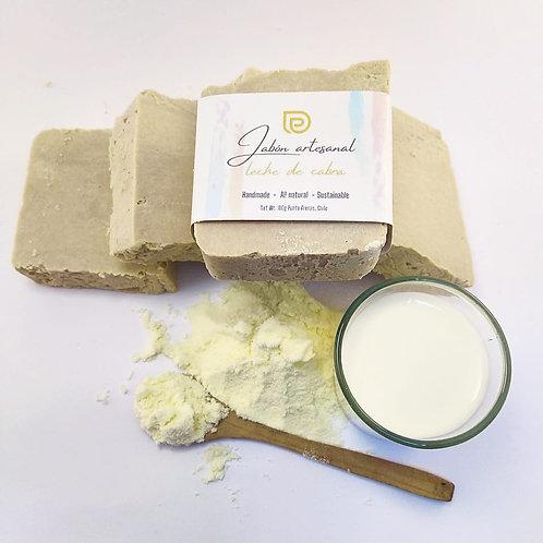Jabón de leche de cabra, 100grs aprox