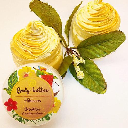 Body butter de Hibiscus (flor de Jamaica)