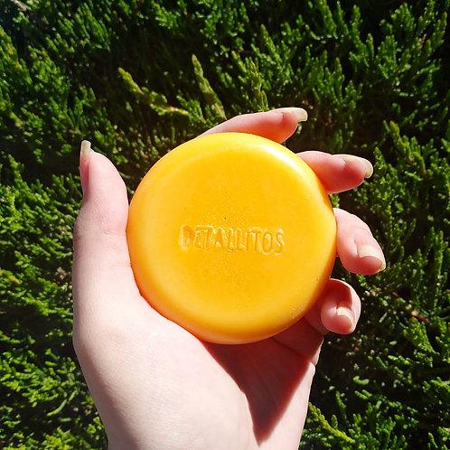 Acondicionador solido de mango,  60grs