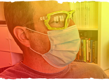 Protective Eyewear Could Help Reduce Risk of COVID-19 Exposure When Paired with Mask