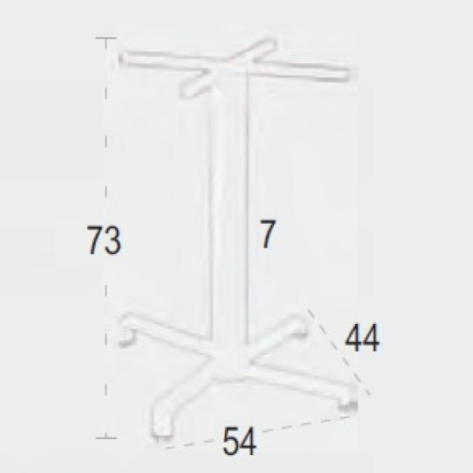 NEO Pie Mesa Plegable Aluminio.