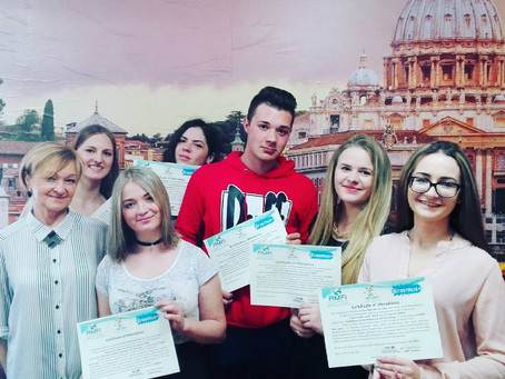 """IDEAS FOR THE MENU"" another Erasmus+ Traineeship Project concluded!"