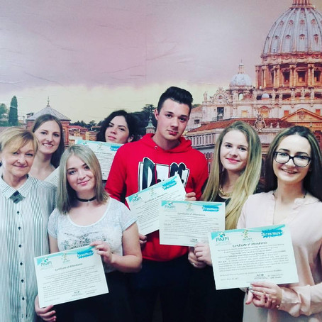 """""""IDEAS FOR THE MENU"""" another Erasmus+ Traineeship Project concluded!"""