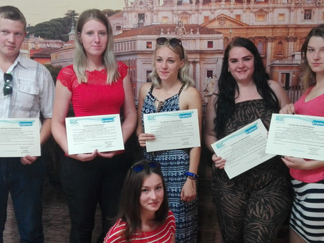"6 Lithuanian Graduates in Italy for the Project ""Diploma Supplement""!"