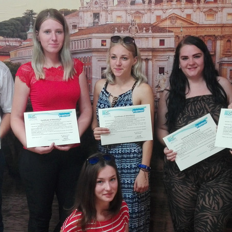 """6 Lithuanian Graduates in Italy for the Project """"Diploma Supplement""""!"""