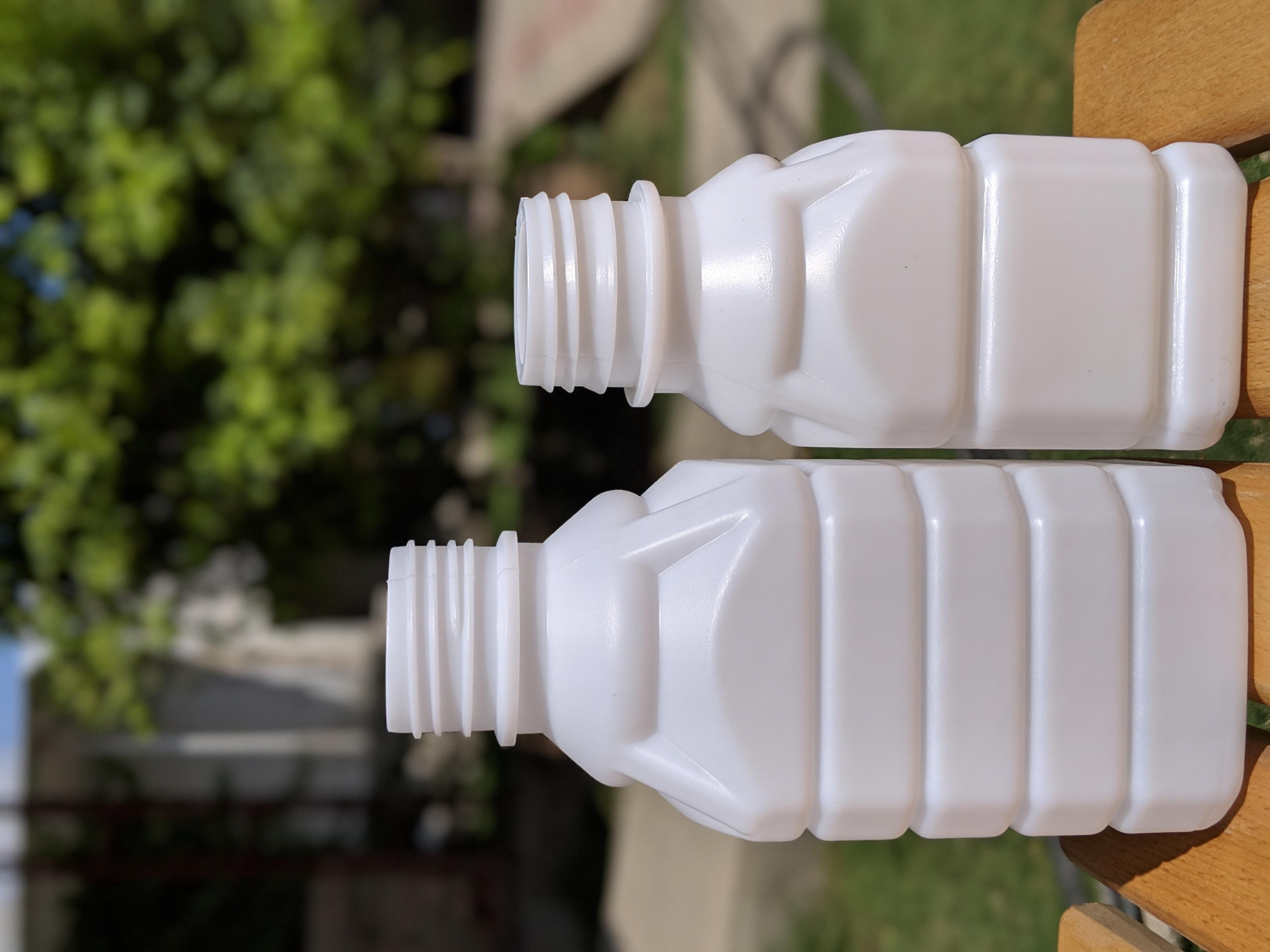 Arched Square Shape Bottles