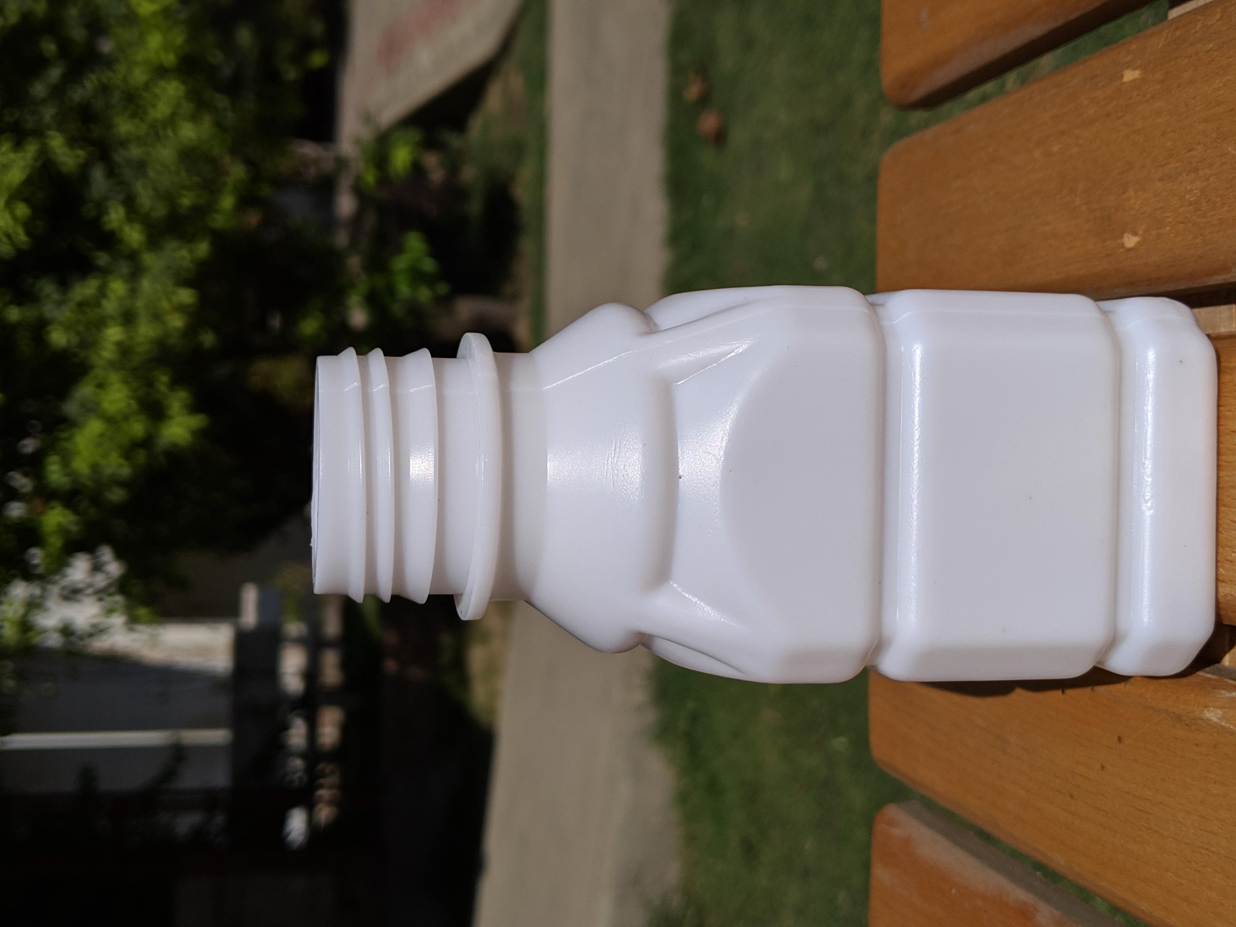 Arched Square Shape Bottle