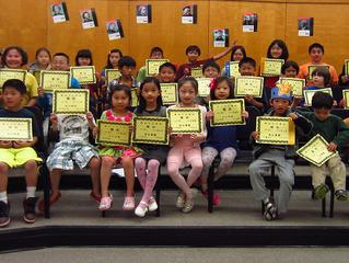 華府中文學校舉辦 「打字、認字、查字典比賽」 成果豐碩