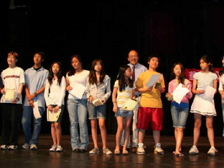 華府中文學校2007年的畢業暨結業典禮 熱鬧而溫馨