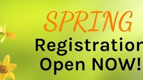 2020 春季班將於1月24日開始,線上註冊現已開放 Spring semester will begin on January 24th and the enrollment is now open