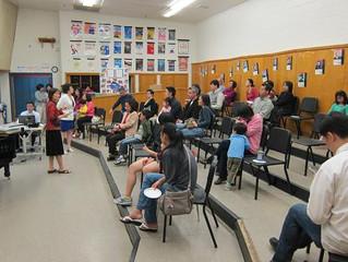 華府中文學校對外開放教學示範 並加強學校與家長互動  反應熱烈