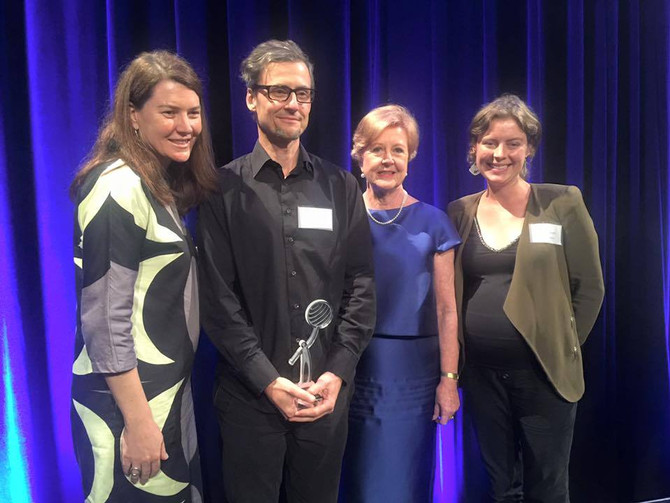 Maitree recipients of the Australian Human Rights Commission Business Award 2015