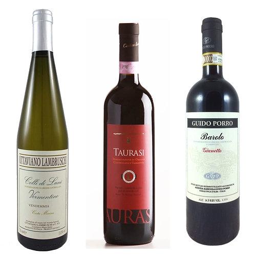 Virtual Wine Tasting Wine Box - 6 Bottles
