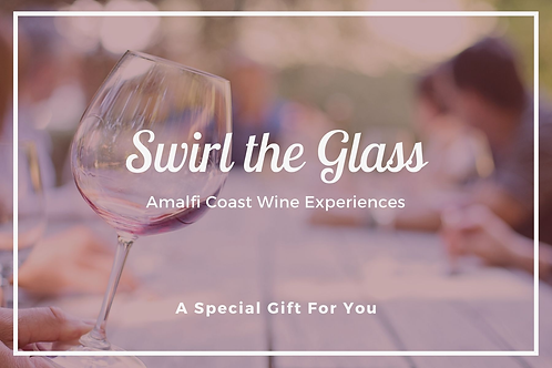 Gift Certificate - Swirl the Glass Wine Tour for Two
