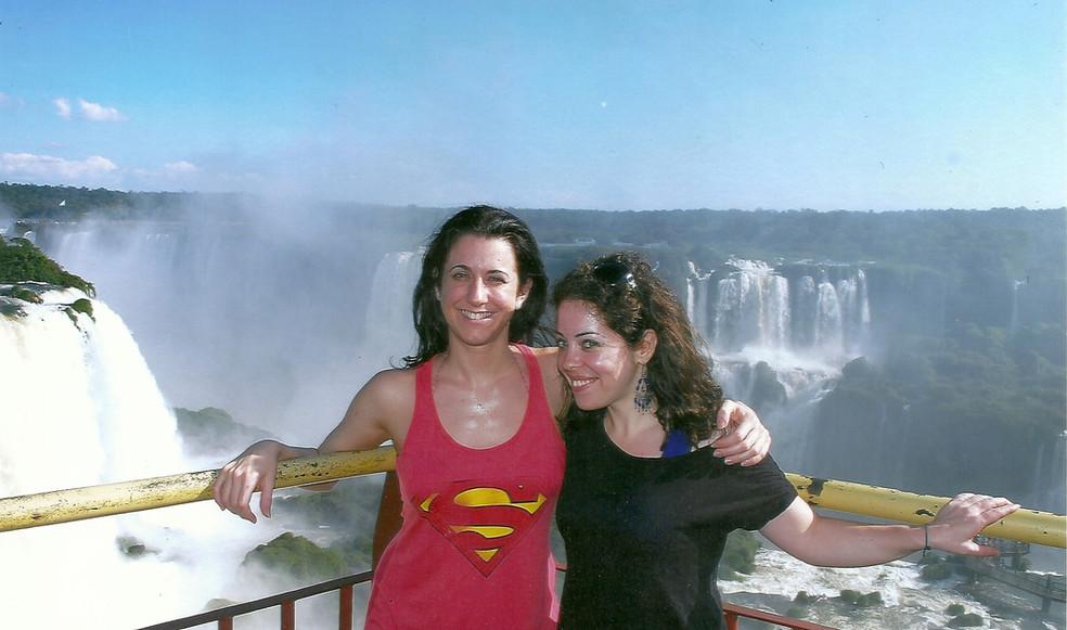 With Juli (Iguazú, 2011)