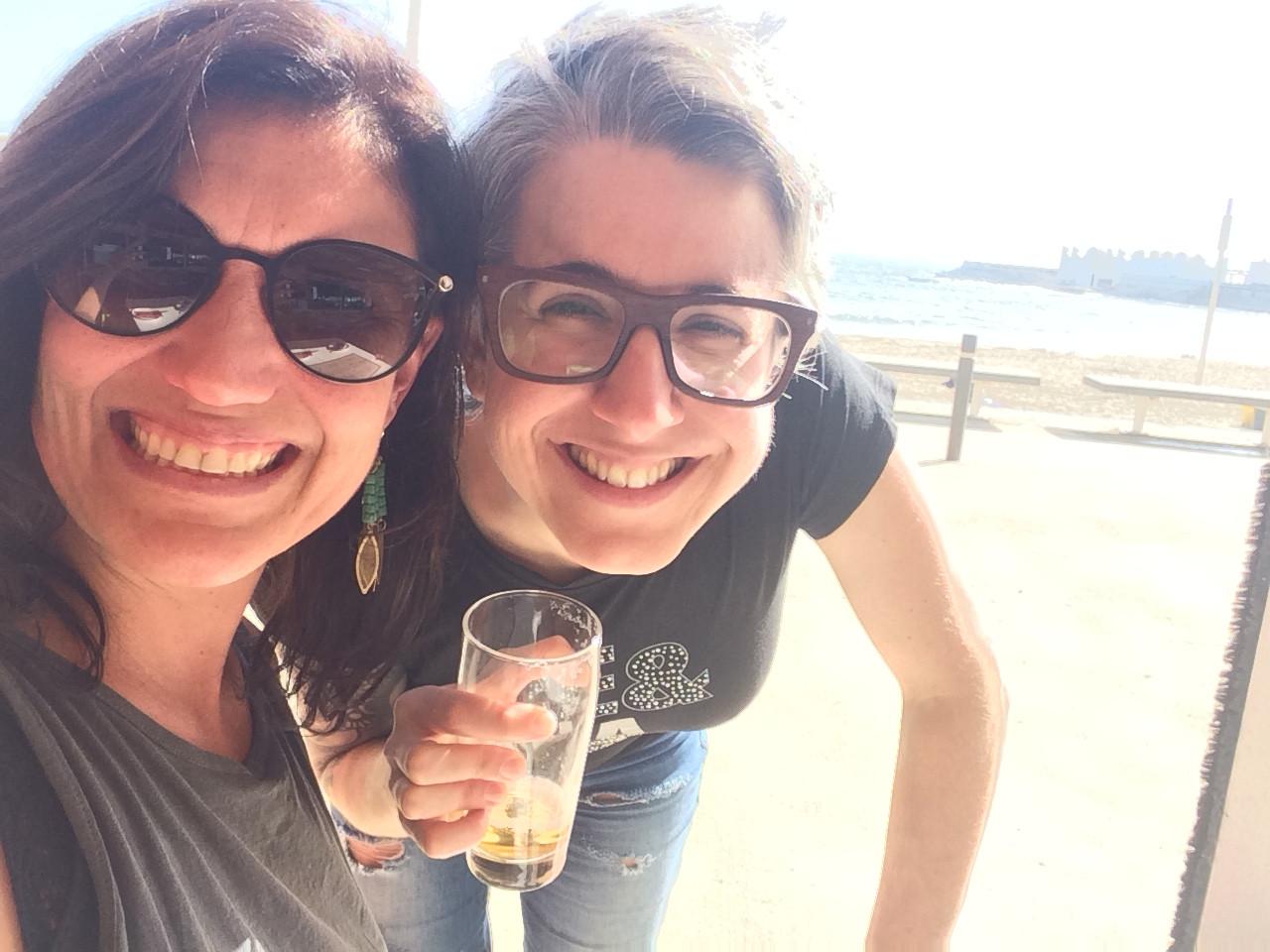 With Lorna (Barcelona, 2017)