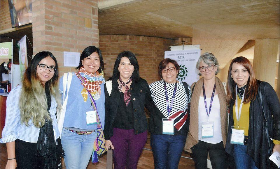At a Congress (Bogotá, 2017)