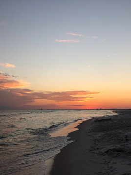 Is there anything better than the beach at sunset?
