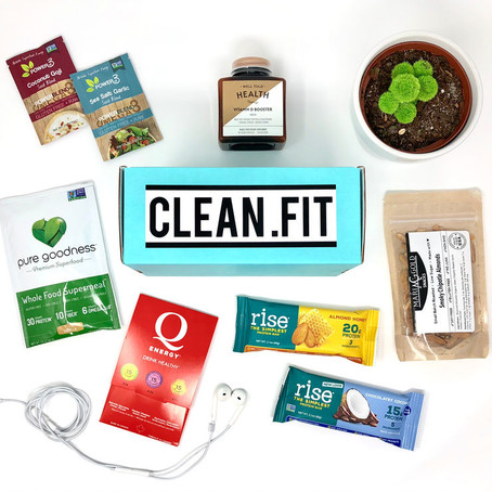 January 2018 CLEAN.FIT Box