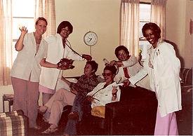 Preterm staff in the 1970s